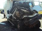 Homem morre após caminhão bater na traseira de outro em Lavínia