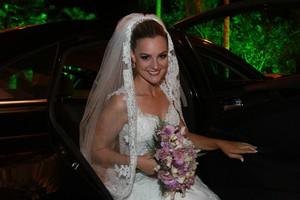 Ex-paquita Thalita Ribeiro se casa (Foto: Clayton Militão/ Foto Rio News)