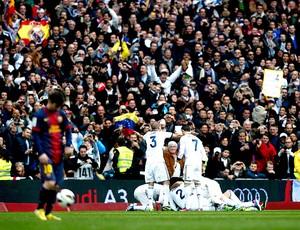 sergio ramos real madrid gol Barcelona (Foto: Agência Reuters)