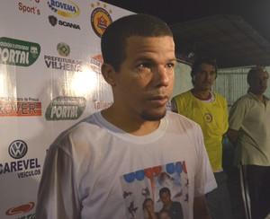 Edilsinho, do Vilhena (Foto: Lauane Sena)