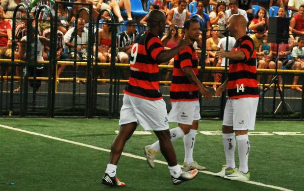 Fábio Baiano Flamengo showbol (Foto: Max Santos/Divulgação)