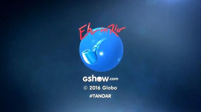 Ebó in Rio na logo (Foto: TV Globo)