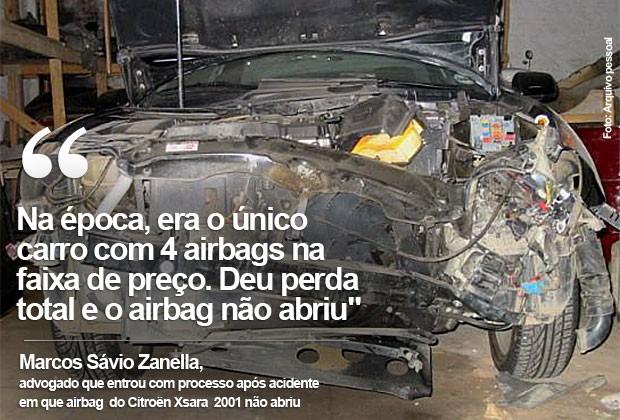 Marcos Zanella - Airbag (Foto: Arquivo Pessoal)