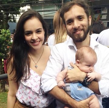 Taina e familia (Foto: Reprodução/TV Liberal)