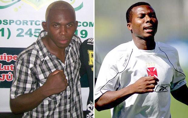 Montagem, Abedi do MMA e Abedi do Vasco (Foto: Editoria de Arte / Globoesporte.com)