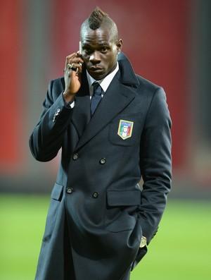 FUTEBOL- MILAN - Mario Balotelli  (Foto: Getty Images)