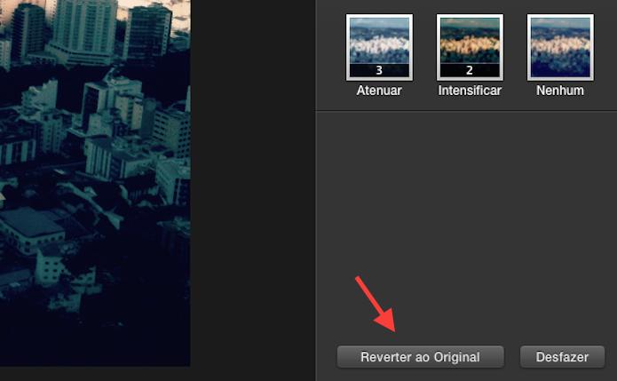 Revertendo uma imagem modificada para original retirando todos os efeitos (Foto: Reprodução/Marvin Costa)