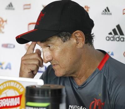 Muricy Ramalho - coletiva Flamengo (Foto: Gilvan de Souza / Flamengo)