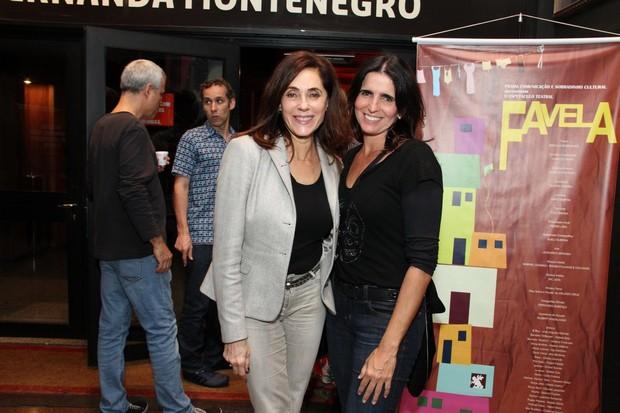 """Christiane Torloni e Malu Mader na estreia de """"Ciranda"""" (Foto: Thyago Andrade / Foto Rio News)"""
