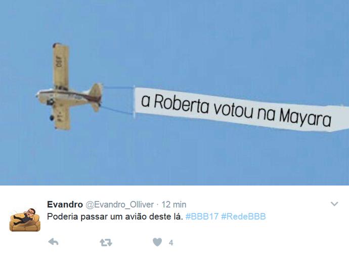 Meme AVião BBB (Foto: Reprodução)