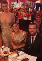 Fernanda Keulla usa look de R$ 300 mil em jantar de gala beneficente