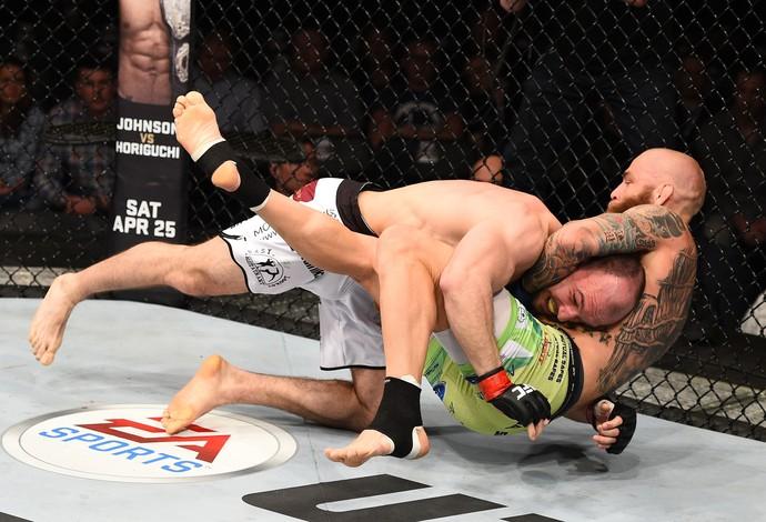 Bartosz Fabinski Garreth McLellan UFC Polônia (Foto: Getty Images)