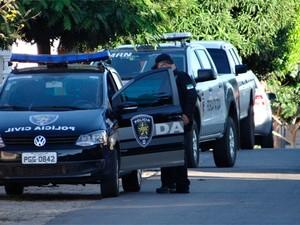 Mandados foram cumpridos na manhã desta terça-feira (16) em Carnaúba dos Dantas (Foto: Anderson Dantas)