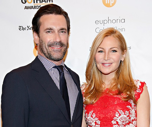 Jon Hamm e Jennifer Westfeldt (Foto: Getty Images)