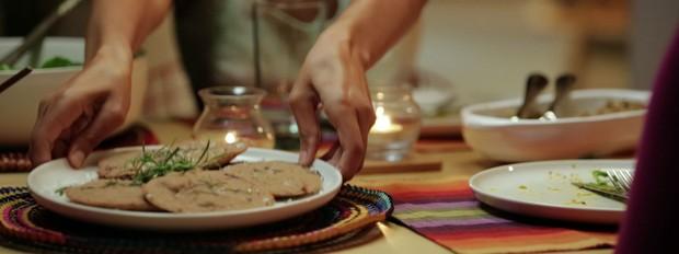Bela Cozinha, episdio Slow Food, Malu Mader e Caetano Veloso (Foto: Divulgao/GNT)