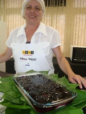 Manjar de amora (Foto: Ana Carolina Levorato)