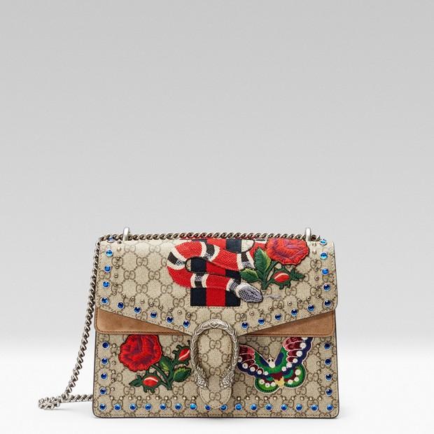 d4123b3232f Gucci lança edição especial da bolsa Dionysus inspirada em oito ...