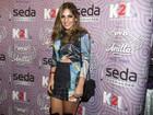 Ex-BBBs Anamara e André vão a show de Anitta no Rio