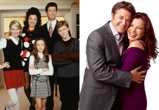 Fran Drescher estrelou séries como 'The Nanny' (1993-1999) e 'Happily Divorced' (2011-2013) (Foto: Reprodução)