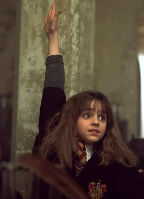 Emma Watson em Harry Potter e a Pedra Filosofal (2001) (Foto: Divulgação)