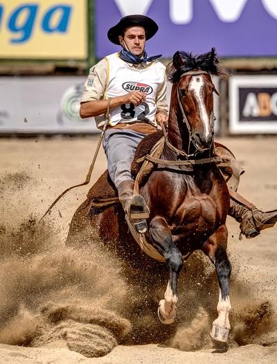 guto-freire-bocal-de-ouro-cavalo-crioulo (Foto: Divulgação/ABCC)