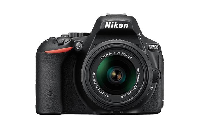 Nikon DSLR D5500 tem vídeos em Full HD e conexão Wi-Fi embutida (Foto: Divulgação/Nikon)