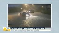 Moradores amanheceram limpando as casas depois da chuva em Jundiaí