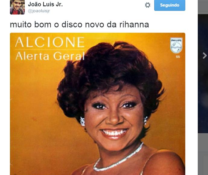 Rihanna Alcione (Foto: Reprodução Internet)