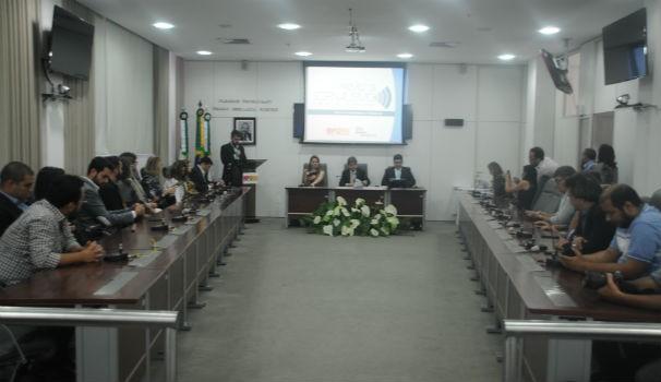 A Inter TV foi uma das vencedoras do prêmio de jornalismo do Ministério Público (Foto: Assessoria de imprensa do MPRN)