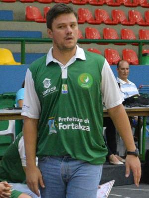 Espiga técnico Basquete Cearense LDB (Foto: Vitor Geron)