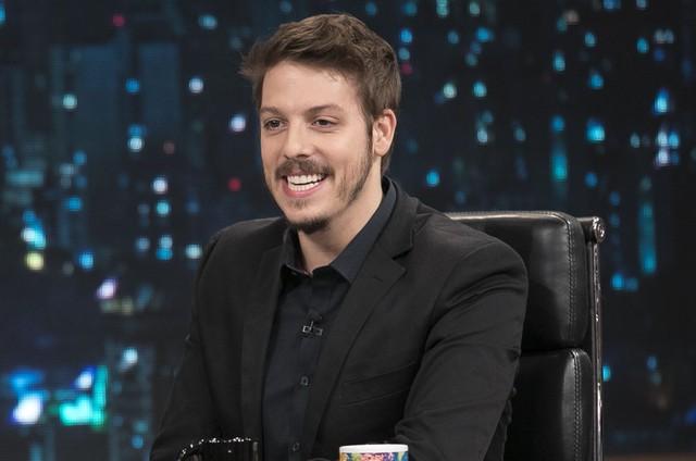 Fabio Porchat no 'Programa do Porchat' (Foto: Edu Moraes/Record)