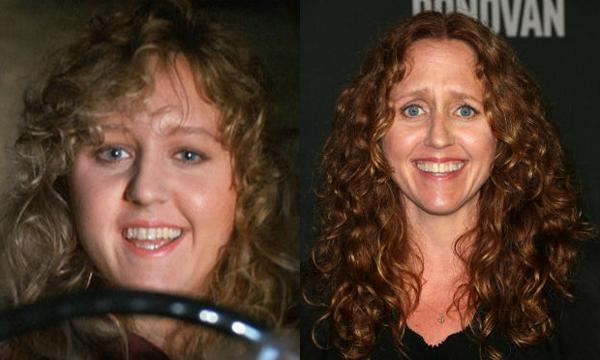Brooke Smith em 1991 e atualmente (Foto: Divulgação)