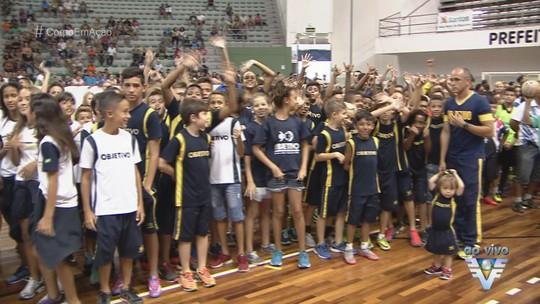 14ª Copa TV Tribuna de Futsal Escolar teve início neste sábado na Arena