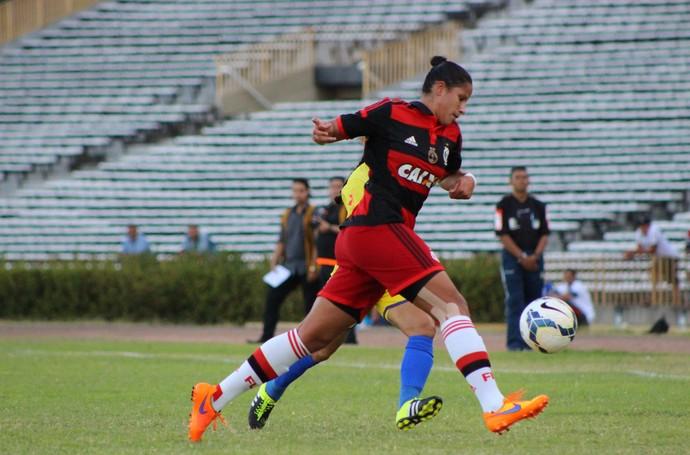 Tiradentes-PI 1 x 0 Flamengo (Foto: Emanuele Madeira/Globoesporte.com)