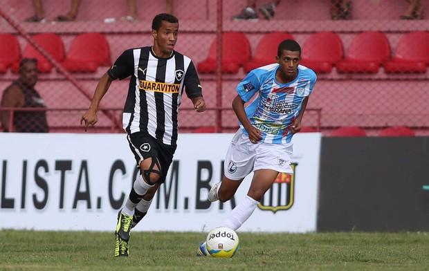 Copinha - Botafogo x Ji-Paraná, Juninho (Foto: Marcos Bezerra/Agência Estado)