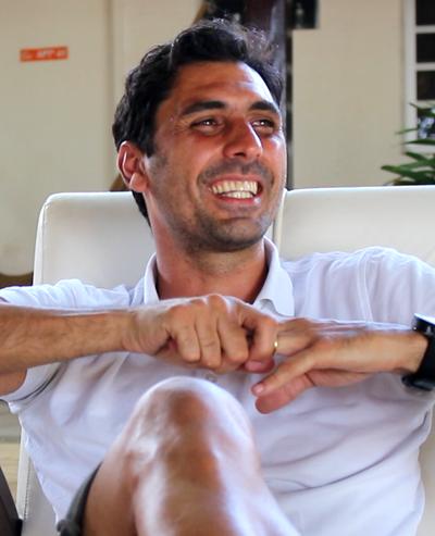 Athirson, técnico do Flamengo-PI  (Foto: Josiel Martins)