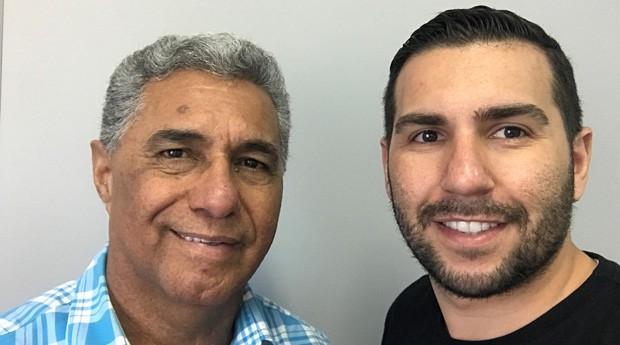 Daniel Soares e Christian Moroni, fundadores da Spray de Defesa (Foto: Divulgação)