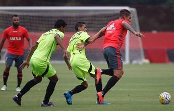 Com gols de Guerrero e Arão, Fla vence Americano em jogo-treino: 3 a 0