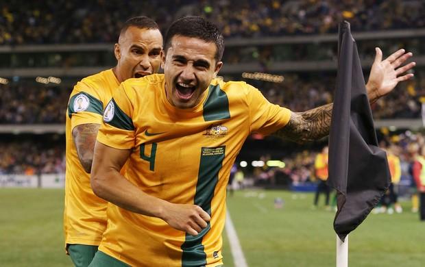 Tim Cahill gol Austrália (Foto: Getty Images)