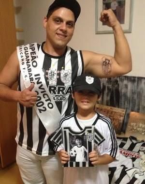 Ronaldo Barcelos, torcedor do Americano (Foto: Arquivo pessoal)