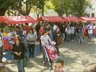 Encontro de intercambistas reúne estudantes no Centro de Itajubá, MG