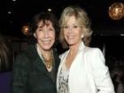 Atrizes Jane Fonda e Lily Tomlin se reencontram em comédia do Netflix