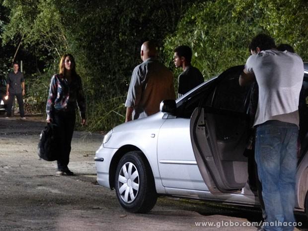 Ai Meus Deus!!!!  Será que a Raquel vai ficar no lugar da filha? (Foto: Malhação / TV Globo)