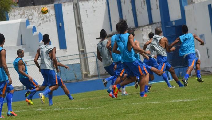Confiança vai enfrentar o Central-PE neste domingo (Foto: Felipe Martins/GLOBOESPORTE.COM)