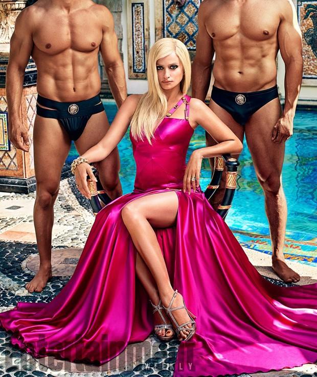 Penelope Cruz como Donatella Versace (Foto: Reprodução/Entertainment Weekly)