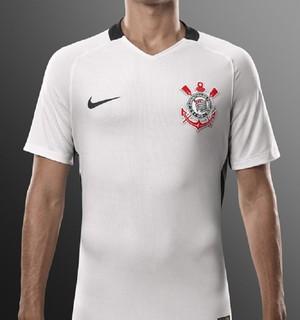 Nova camisa Corinthians (Foto: Divulgação)