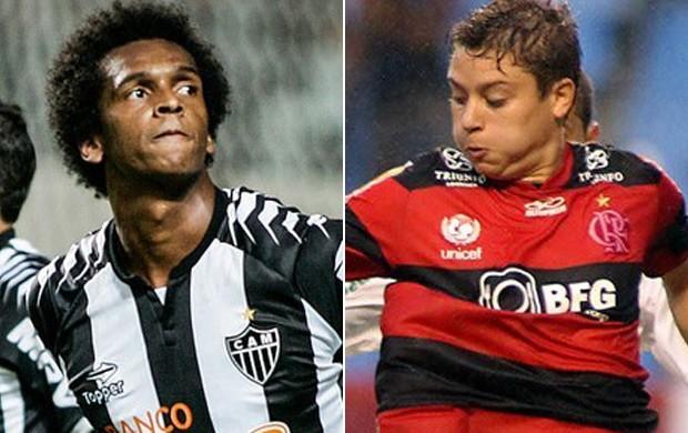 Jô e Adryan gol mais perdido enquete É Gol (Foto: Montagem SporTV)