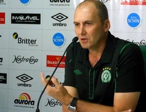 Gilmar Dal Pozzo técnico Chapecoense (Foto: Aguante/Chapecoense)