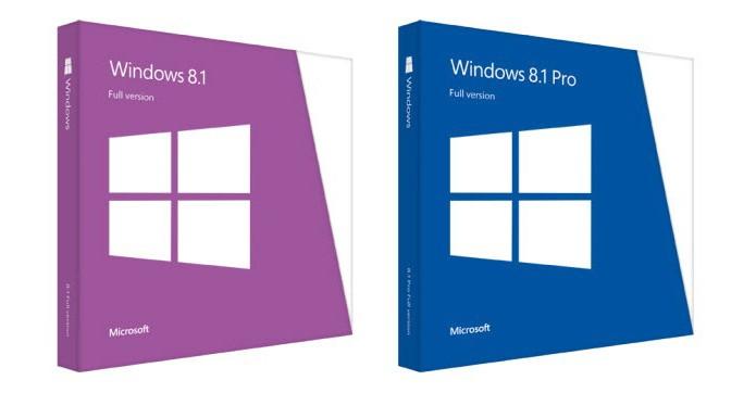 Windows 8.1 está disponível nas versões comum e Pro em DVD ou arquivo digital (Foto: Divulgação/Microsoft)