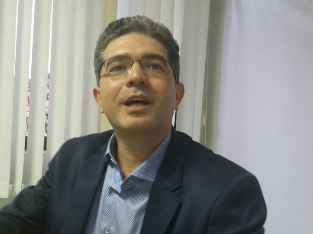 Einstein Barbosa, ex-prefeito de Macau (Foto: Max Almeida)
